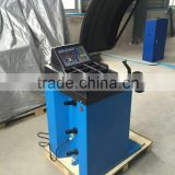 Portable used wheel balancing machine with CE approval
