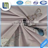 Online shop huzhou 100% polyester butterfly design fabric textile