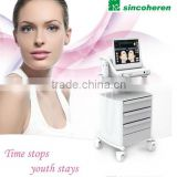 8MHz High Frequency Machine For Hair HIFU Beauty Machine/HIFU Pain Free Slimming Machine 5.0-25mm / Hifu Ultrasound Skin Tightening 300W Bags Under The Eyes Removal