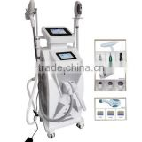 Multi-function e-light&opt hair removal machine, laser skin care system , no pain RF acne removal device