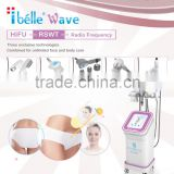 Eye Lines Removal RSWT Shock Wave Nasolabial Folds Removal Therapy Collagen Refill Technology HIFU Machine