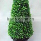 potted grass ball/plastic grass ball/Boxwood Artificial Grass/hanging grass/topiary boxwood grass ball