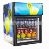 48L mini display cooler, bar fridge