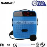 Wholesale Portable Amplifier With Speaker with MP3/USB Slot /FM/U Disk Read Function and Headset Microphone