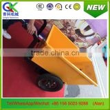 handhold electric wheel barrow trolley for construction site cargo