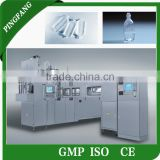 ASEPTIC SYSTEM Pharmaceutical Grade infusion Plastic bottle PP/ PE Blowing Filling Sealing Machine production line