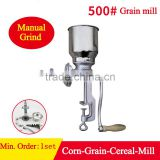 Manual grinding machine for wheat, corn, rice, beans, coffee beans, cocoa beans pepper. etc