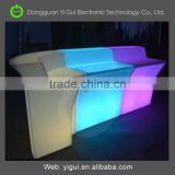 illuminated cheap led cafe bar counter design for party