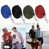Long 10m Dog Pet Puppy Traction Rope Training Neck Strap Nylon Lead Leash Walk Hiking Training Safe Pet neck strap dog leashes