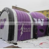 Advertising Inflatable Teepee Football Tunnel Sports