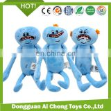 Hottest plush movie cartoon toys lovely Rick and Morty plush toys wholesale
