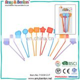 Wholesale china party supplies heart shape glow plastic stir sticks