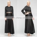 Newest muslim dress sequin design fancy dubai abaya 2016 latest design women jubah