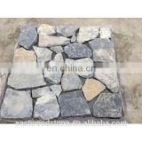 Gray natural stone thin veneer, ledge stone, wall panel