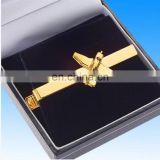 Manufacturing high quality 3d airplane-shaped tie clip hardware