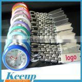 Stainless Steel Branded Logo Nurse Clip Watch