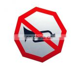 Traffic Signs Aluminum Composite Material Safety Signs