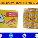 10g halal Beef stock cube/ bouillon cube/flavour cube