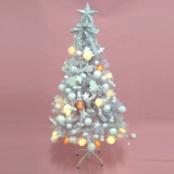 New fashion luxury white luxury christmas tree beautiful artificial trees for indoor decoration
