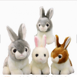 Lovely  Plush Rabbit CE/EN71 Healthy Peluches Pelucia Rabbit Toy Stuffed Animal