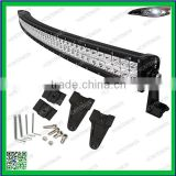 HOT!!!Single Row 288W Off road curved LED light bar, 12V/24Vdriving light on 4x4 Vesicles:SUV,ATV,4WD,Jeep, Truck