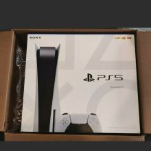 Play Station 5 PS5 825GB 2 GET 1 FREE + Warranty + 20 GAMES & 2 Controllers