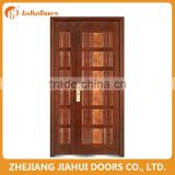 turkey double armored door steel wooden door design