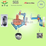 high effiency otr tyre shredder equipment machinerey/nylon tyre scrap cutting machine for sale