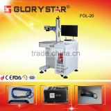 SIGN metal fiber laser marking machine / wood acrylic plastic metal laser printer for sale
