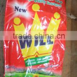red/ blue/ white laundry detergent, detergent washing powder, washing powder made in Vietnam