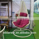 Patio Swing Rattan Egg Hanging Chair DW-H024                                                                         Quality Choice