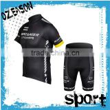 hot sale blank cheap china cycling jerseys set clothing with shirt and pants