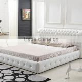 2016 new Bedroom furniture the bedroom wooden,furniture,italian leather bed for Christmas promotion