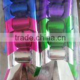 Silver+PINK+Purple+Green Glitter Metallic PVC Giant Butterfly Bow for Christmas decoration