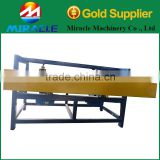 Wood-working factory using wood pallet panel cutting saw machine