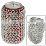Stainless Steel Chainmail Can Chainmail Wine Bottle Holder Bag