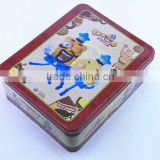 tin box for cards,tin boxes for sugars,tin box for cd