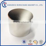 Magnetic Material Axial Magnetizing Custom Neodymium Magnets Permanent