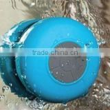 Waterproof portable mini wireless bluetooth 3.0 shower speaker handsfree calls louder sucking disc for gift