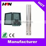 Full stainless steel high flow solar powered submersible water pumps