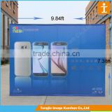 Market Folding Backdrop Pop Up Display Banner Stand,Photo Backdrop