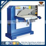 precision hydraulic wet blue split leather embossing machine