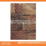 Granite finish wall brick tile exterior wall cladding concrete body