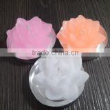 Lotus Flower Shaped Scented Decorative Tealight Candles For Sale