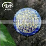 100% Natural A Grade Lapis Lazuli Flower of Life Pendants                                                                         Quality Choice