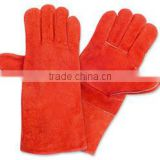 Animal handling leather glove/Reptile handling glove/Pet control glove/cow hide split leather