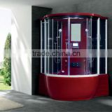 Steam Shower Room w/TV/MP3/MP4 Touch screen control panel combo with jccuzzi bathtub 2 person