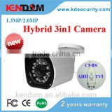 Popular Dahua Similar Housing CVBS TVI CVI AHD Camera 1080P Bullet 4 in 1 Camera Smart IR Control Weather-proof Hybrid Camera