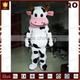 Adult costume animal cow mascot professional cartoon character costume