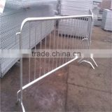 Hot dipped galvanized pedestrian safety traffic crowd control portable metal barrier event fence